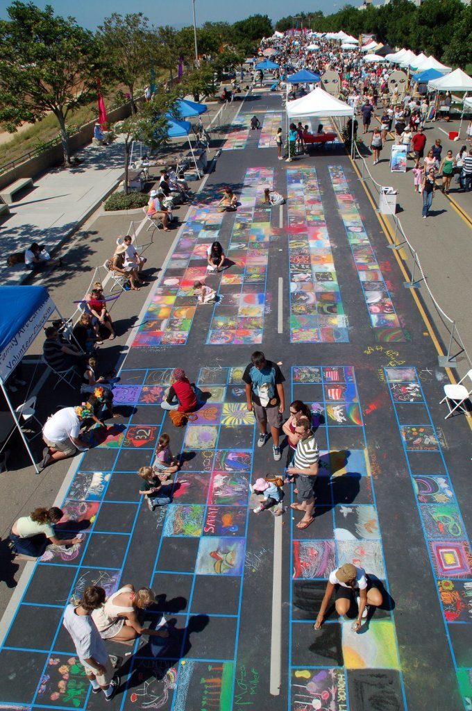 ArtSplash on the street